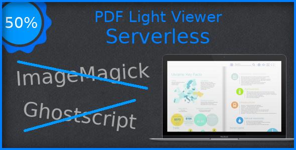 PDF Light Viewer Serverless Addon