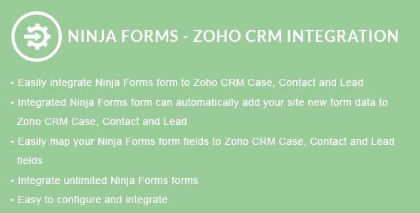 Ninja Forms - ZOHO CRM Integration