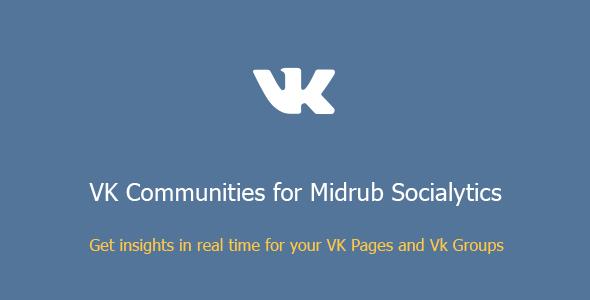 VK Communities for Midrub Socialytics