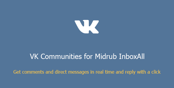 VK Communities for Midrub InboxAll