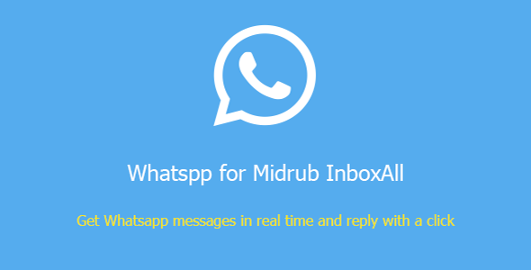 Whatsapp for Midrub InboxAll