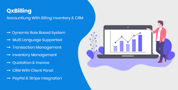 QxBilling - Accounting With Inventory Billing & CRM