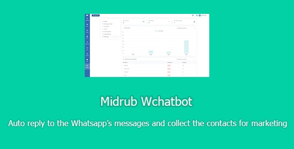Midrub Wchatbot - chatbot for Whatsapp with SAAS support