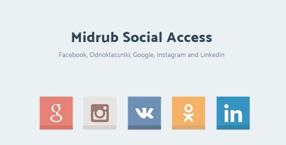 Midrub Social Access - Instagram