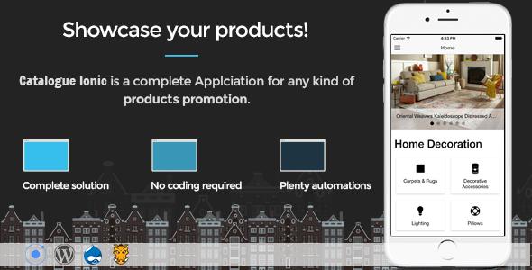 Catalogue Ionic - Full application