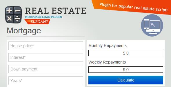 Real Estate Mortgage Loan Calculator