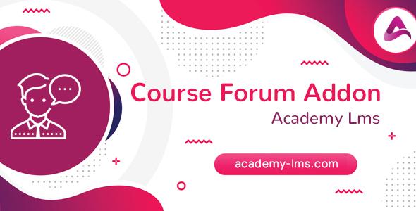 Academy LMS Course Forum Addon