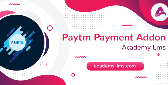 Academy LMS Paytm Payment Addon