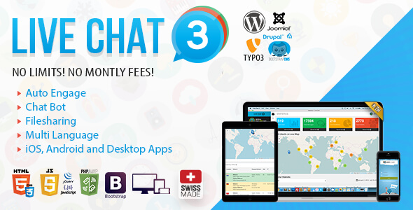 Live Support Chat - Live Chat 3
