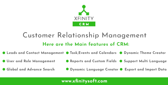 Xfinity Crm - Customer Relationship and Task Management