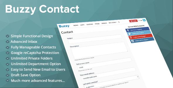 Contact Plugin for Buzzy
