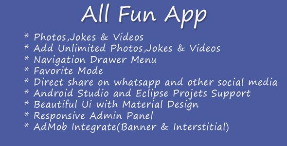 All Fun App