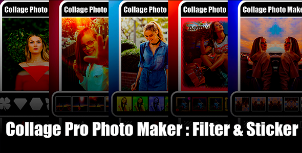 New Photo Collage Editor | Collage Pro Android App | Collage Maker | Admob Ads Full Code