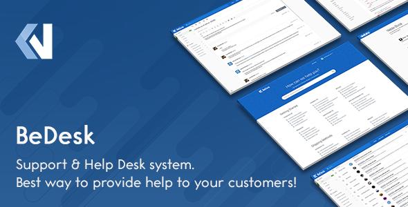 BeDesk - Customer Support Software & Helpdesk Ticketing System