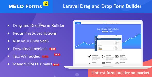 MeloForms - Laravel Drag and Drop Form Builder Software