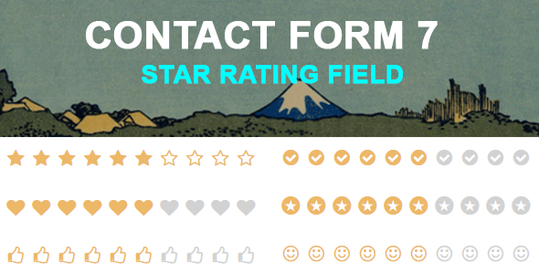 Contact Form 7 Star Rating Field