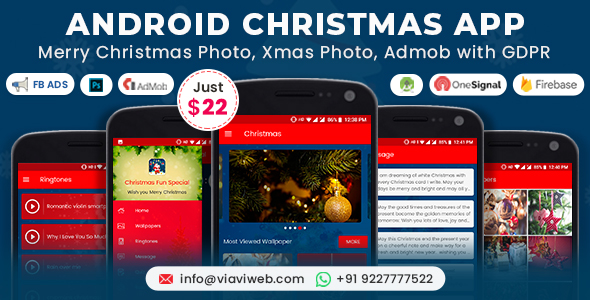 Android Christmas App (Xmas Wallpapers