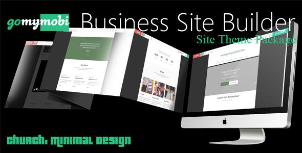 gomymobiBSB's Site Theme: Church: Minimal Design