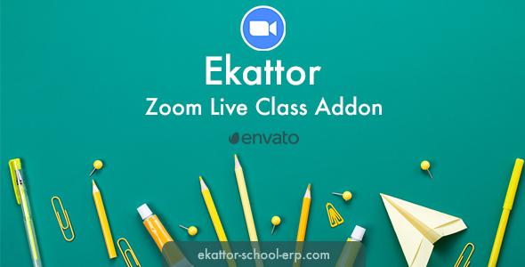 Ekattor Zoom Live Class Addon