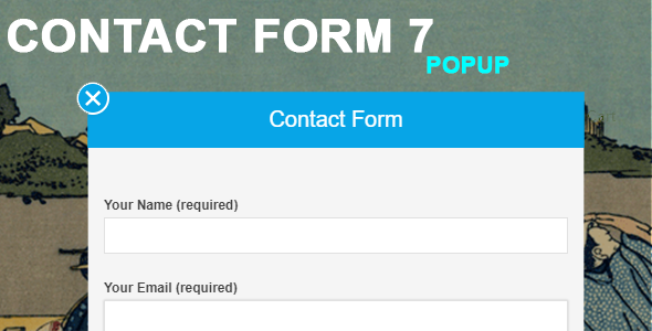 Contact Form 7 Popup