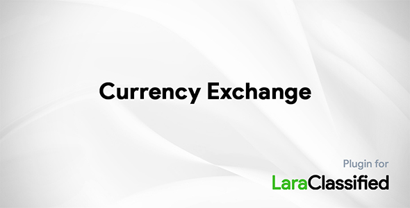 Currency Exchange Plugin