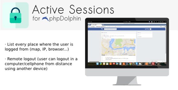 Active Sessions plugin for phpDolphin