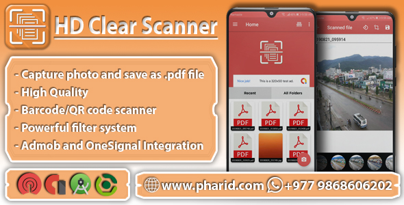 HD Clear Scanner - CamScanner Clone | Images to PDF Quick