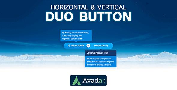 Avada Builder - Horizontal & Vertical Duo Button for Avada Live (v7+)