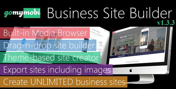 gomymobiBSB: Drag-n-Drop Business Mobile Site Builder - Lite