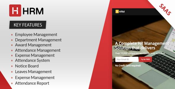 HRM SAAS - Human Resource Management