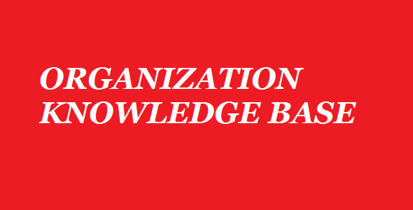 Organization's Knowledge Management