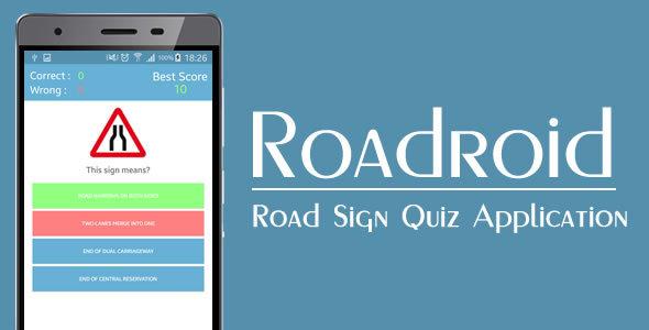 Roadroid - Road Sign Quiz