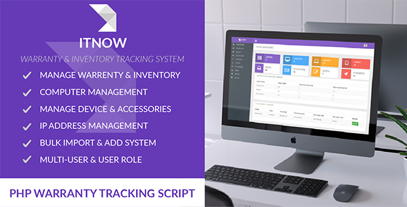 ITNOW-Warranty & Inventory Tracking System