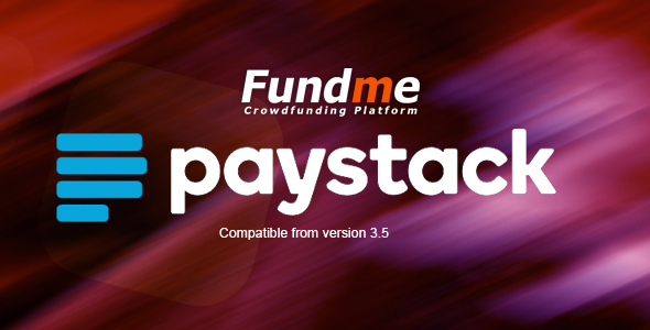 Paystack Payment Gateway for Fundme