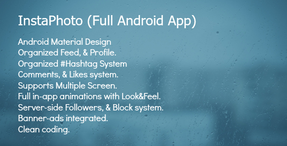 InstaPhoto - Full Android App