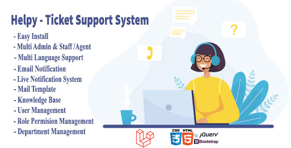 Helpy - Knowledge Base Ultimate Ticket Support System