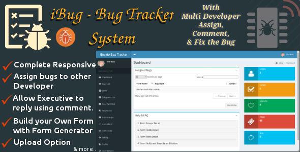 iBug - Bug Tracking Software