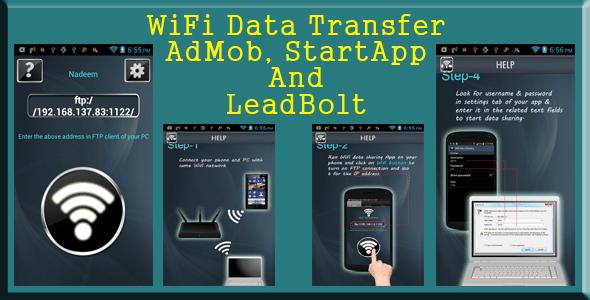 Wifi Data Transfer - AdMob