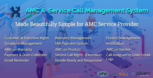 AMC and Customer Service Call Management Application