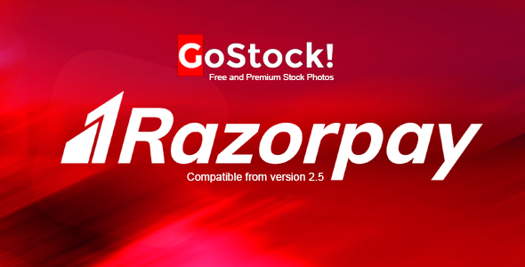 Razorpay Payment Gateway for GoStock