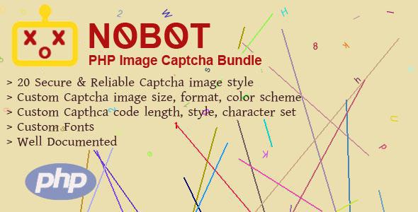NoBot - PHP Image Captcha Bundle