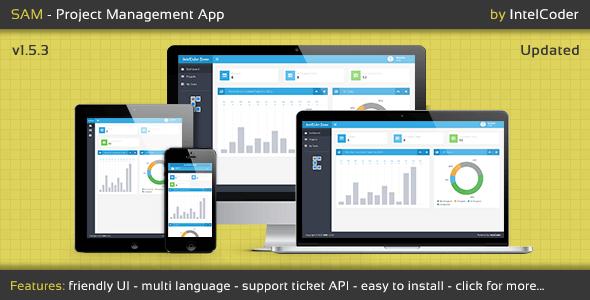 SAM - Project Management App