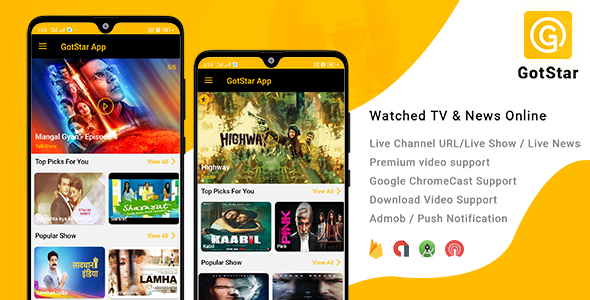 GotStar - Android Live TV - Live Streaming - Web Series