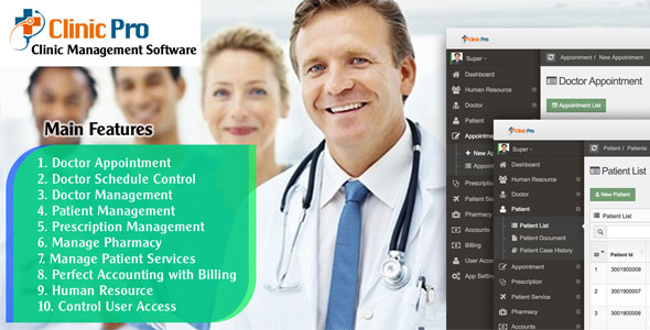 Clinic Pro - Clinic Management Software