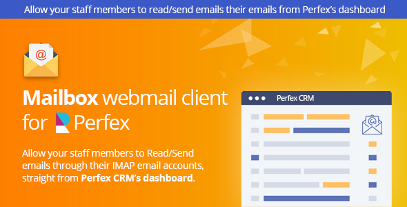 Mailbox - Webmail based e-mail client module for Perfex CRM