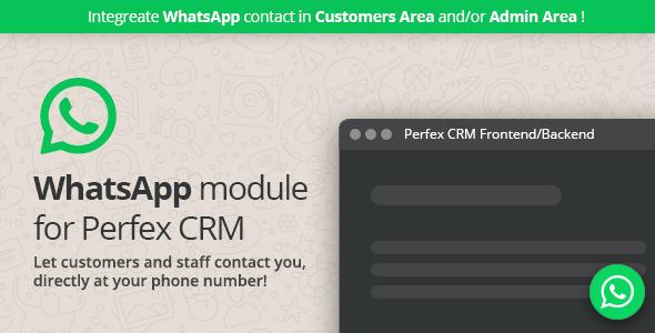 WhatsApp module for Perfex CRM