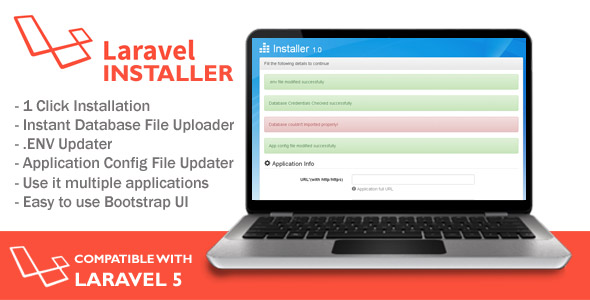 Installer for Laravel Application