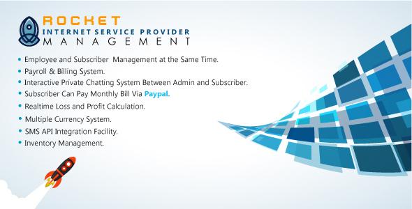 Rocket Internet Service Provider Management (RISPM)