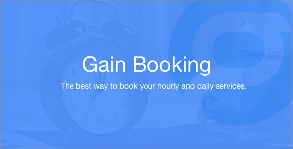 Gain Booking