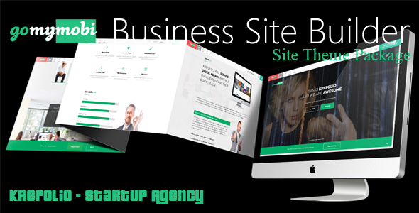 gomymobiBSB's Site Theme: KreFolio - Startup Agency